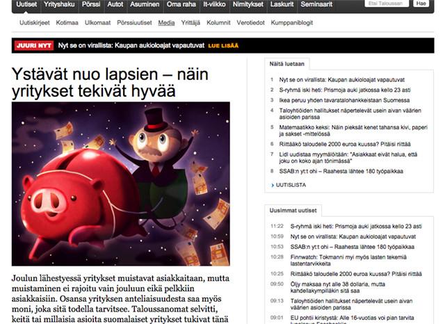 Jouluna kiinnostavat uutiset hyväntekeväisyydestä