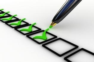 Sähköpostimarkkinoijan Checklist